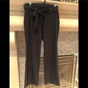 Athleta wide leg lightweight pants w tie NEW